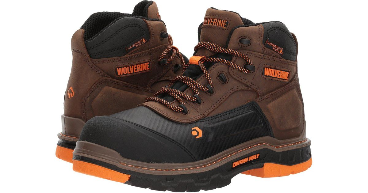 c65effa11e2 Wolverine Brown Overpass Mid Composite for men
