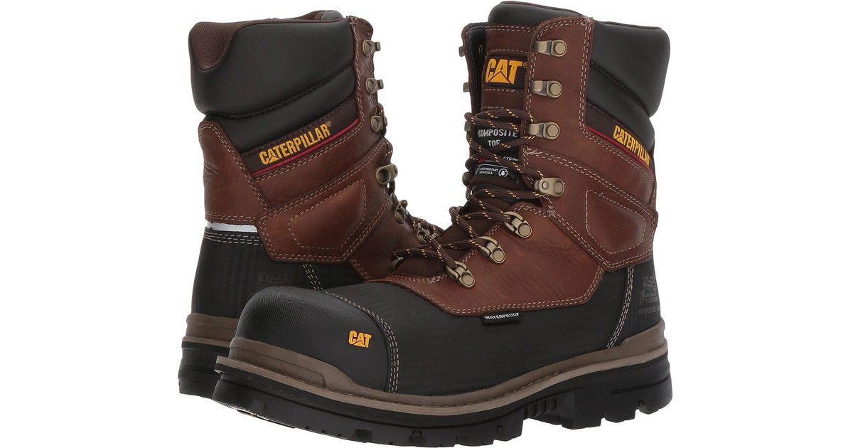 fa38af40307 Caterpillar Brown Thermostatic Ice+ Waterproof Tx Ct for men