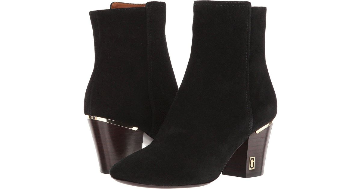 Marc Jacobs Leather Aria Status Ankle