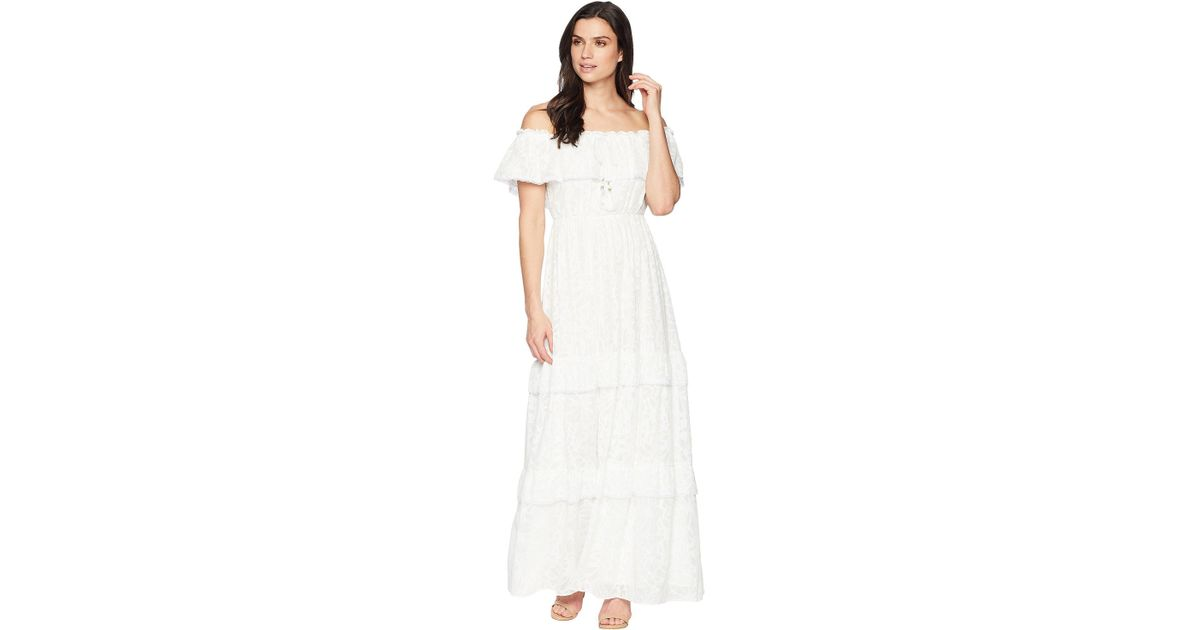 Lyst Catherine Malandrino Virginie Dress In White Save 12 676056338028175