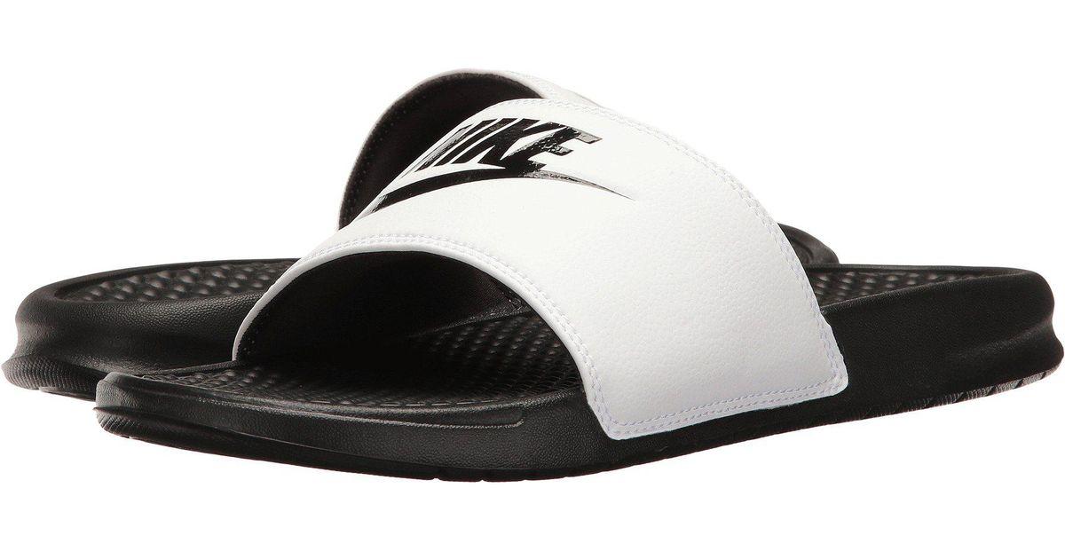 c49782950 Lyst - Nike Benassi Jdi Slide (black white) Men s Slide Shoes in Black for  Men