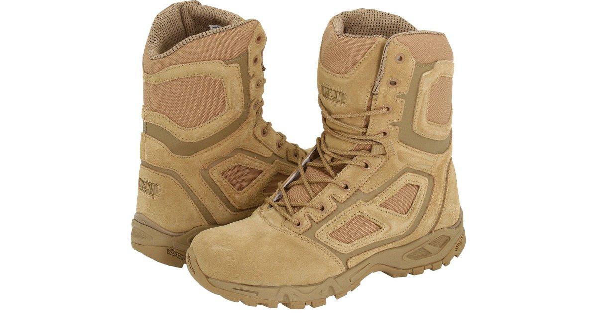 f24e4b6dd6b Magnum Multicolor Elite Spider 8.0 (wheat) Men's Work Boots for men
