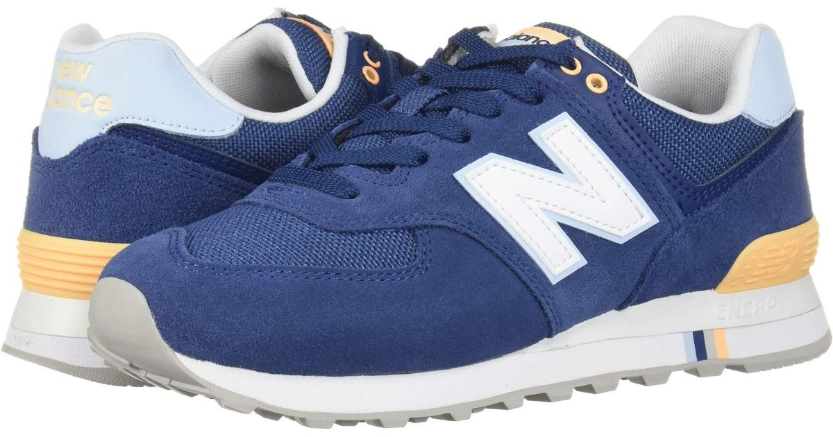new product b1087 fe649 New Balance Blue 574 Summer Shore (moroccan Tile/air) Classic Shoes
