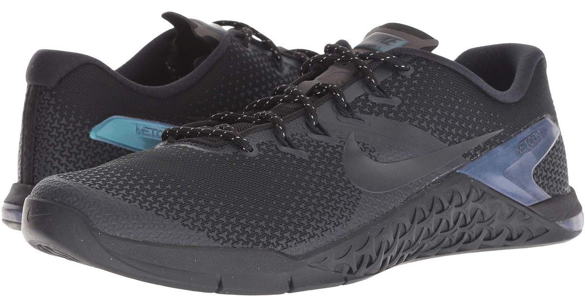 fea28c7ed16ab Nike Metcon 4 Amp (black/black/dark Obsidian) Cross Training Shoes in Black for  Men - Save 34% - Lyst