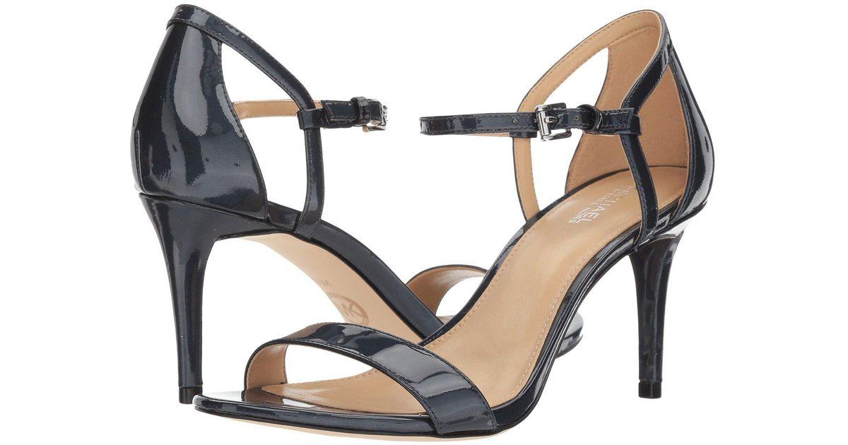 MICHAEL Michael Kors SIMONE MID SANDAL - High heeled sandals - admiral b6xbvQ2R