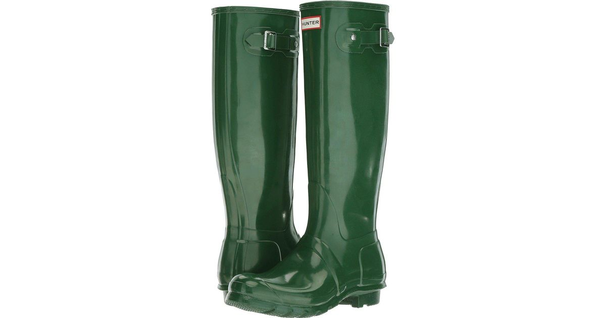 2fce1450963 Hunter - Green Original Tall Gloss - Lyst
