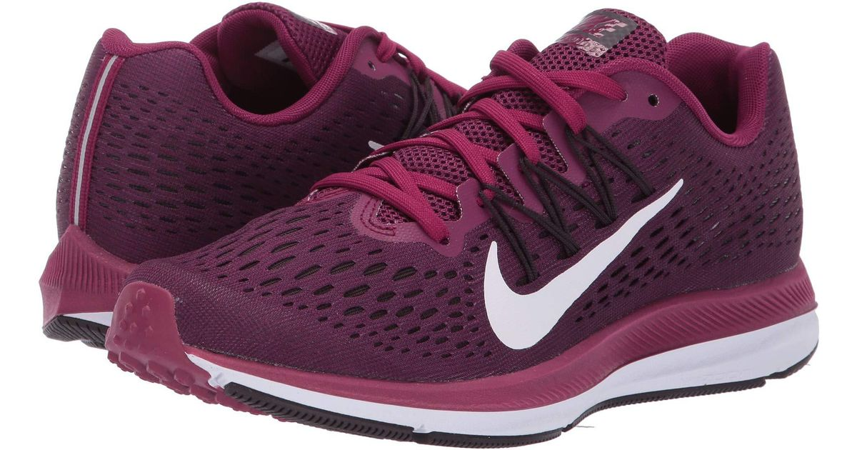 56cb91371e8 Lyst - Nike Air Zoom Winflo 5 Running Shoes in Purple - Save 39%