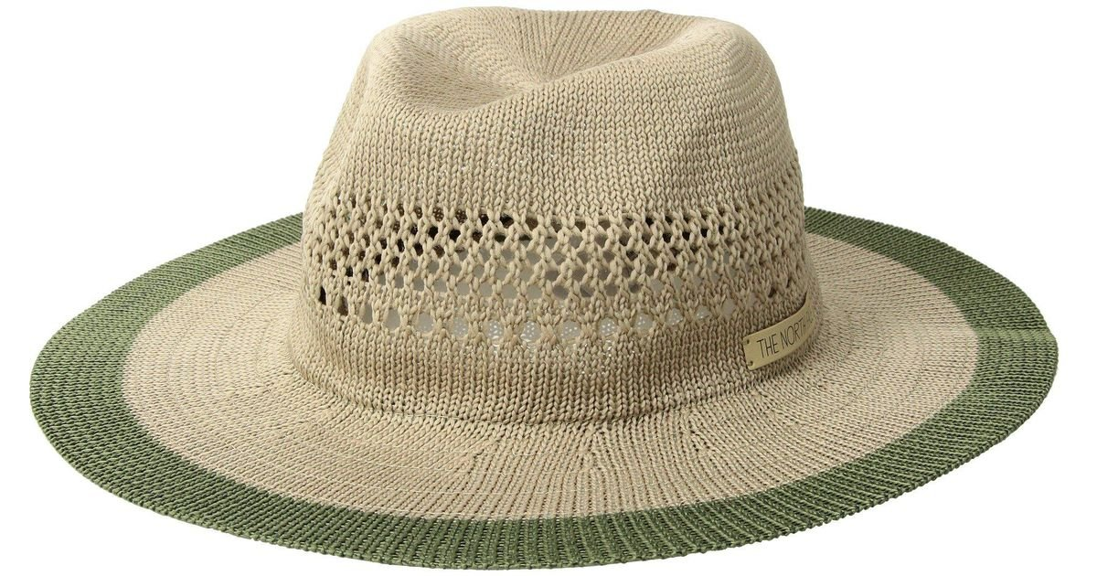3f4d9faf983 Lyst - The North Face Packable Panama Hat (kelp Tan four Leaf Clover)  Traditional Hats