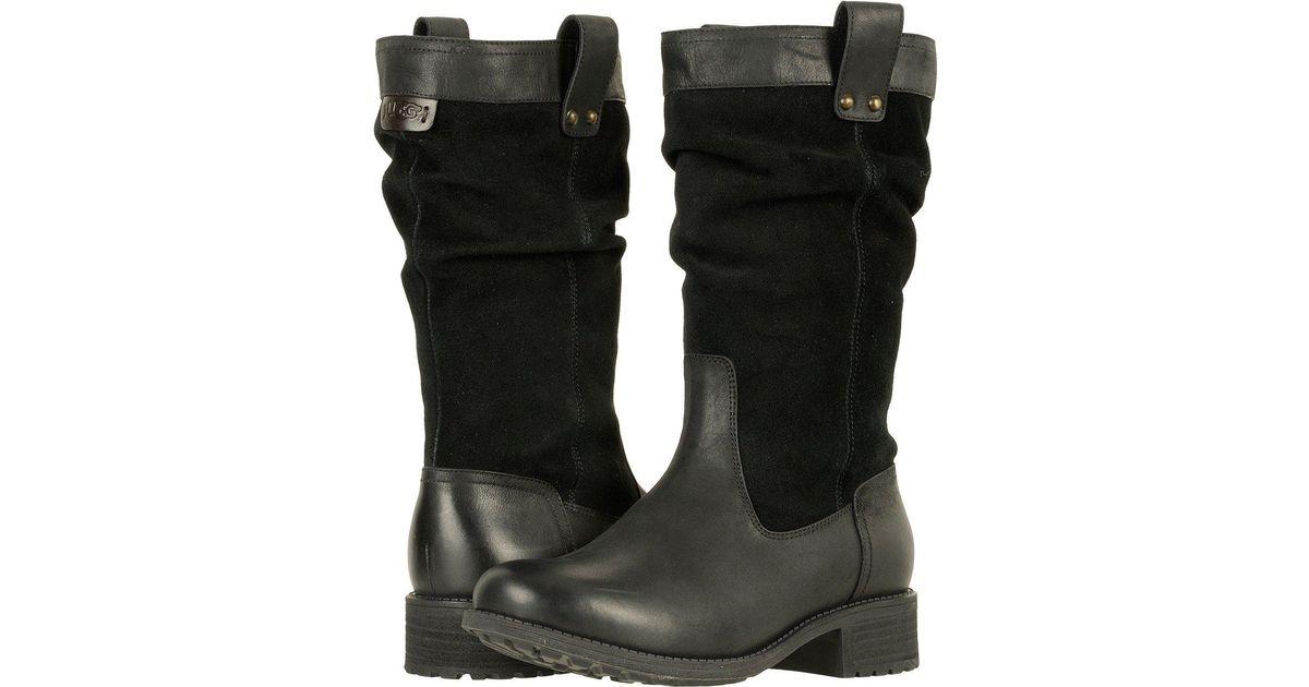 59e759e9fcd Ugg Black Bruckner (stout) Women's Boots