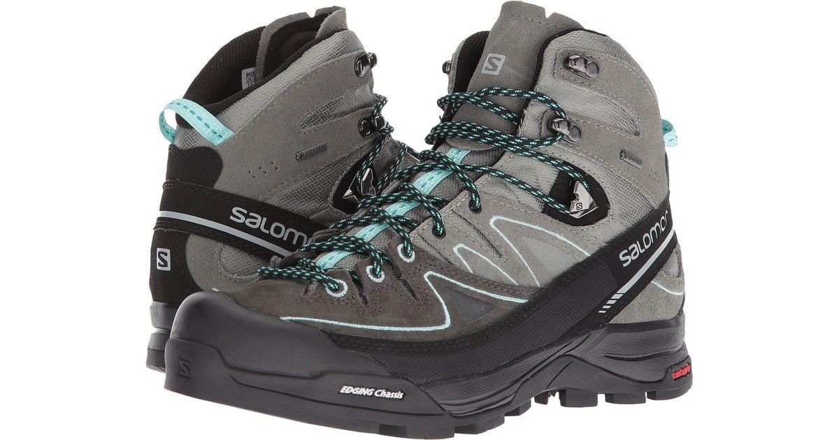 941365d5 Yves Salomon Multicolor X Alp Mid Ltr Gtx (shadow/castor Gray/aruba Blue)  Women's Shoes
