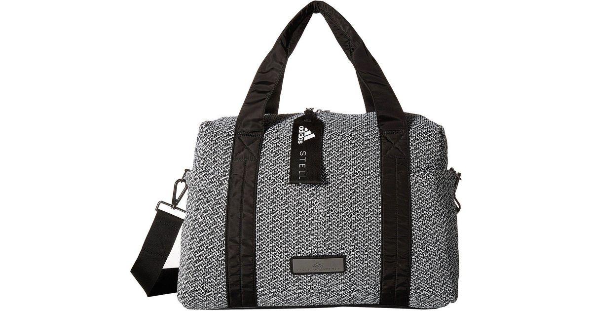 1421951eca Lyst - adidas By Stella McCartney Shipshape Bag (burnt Rose stone ice Grey)  Bags in Black