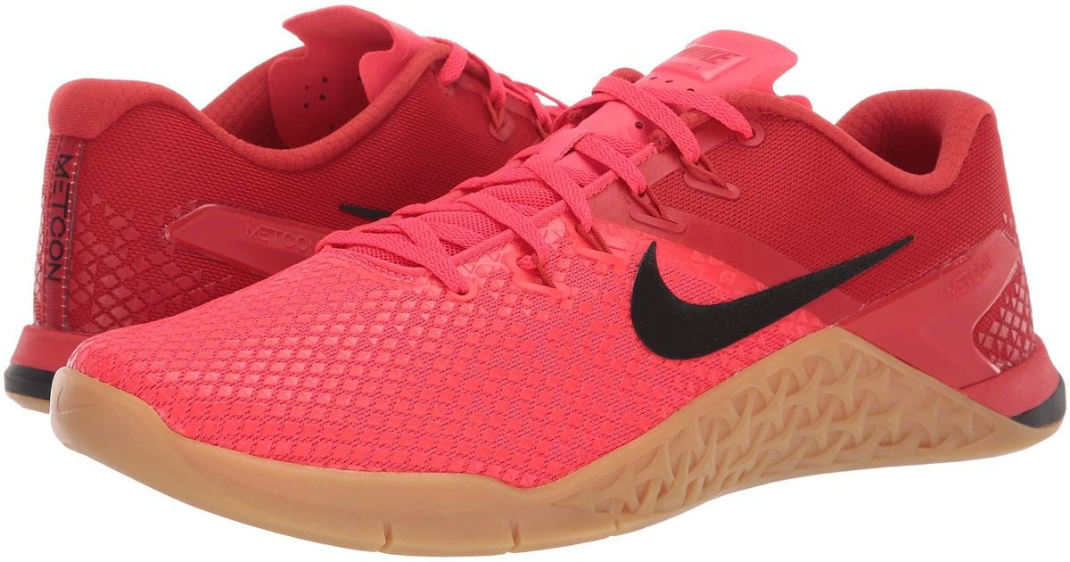 Nike Synthetic Metcon 4 Xd in Red for
