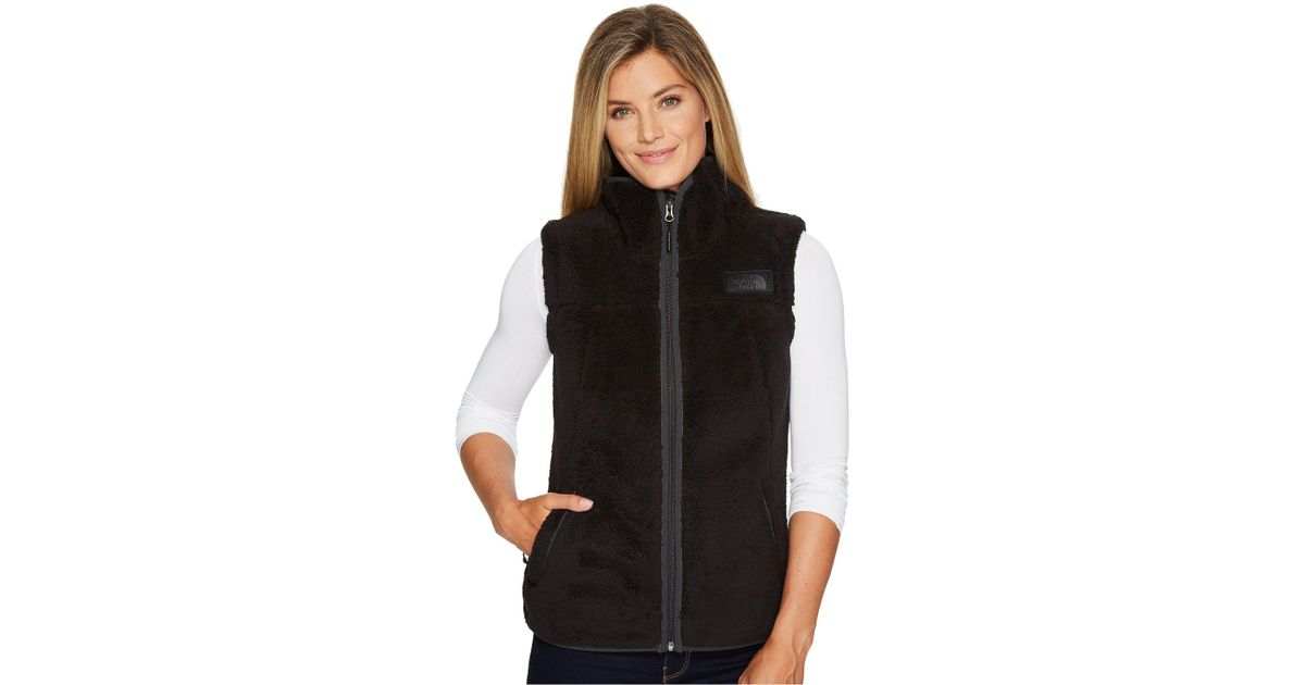 348678098 The North Face Black Campshire Vest