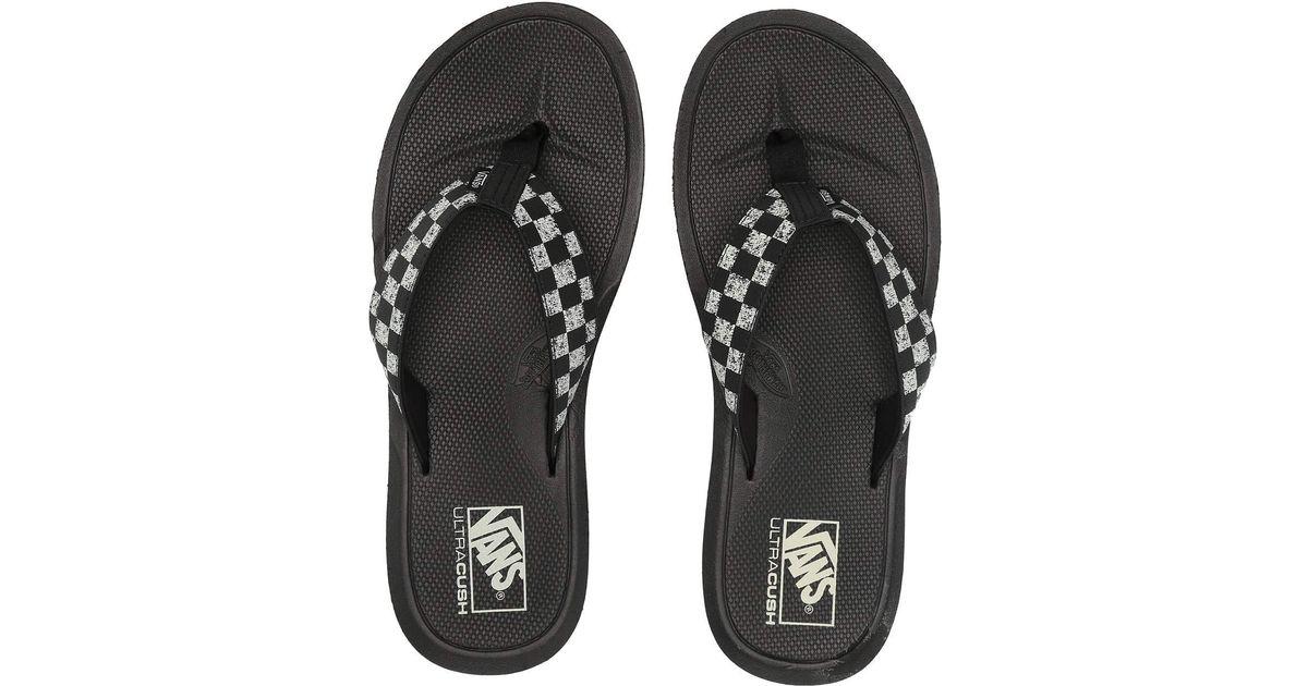 91db1546d011 Lyst - Vans Nexpa Synthetic (black black pewter) Men s Sandals in Black for  Men