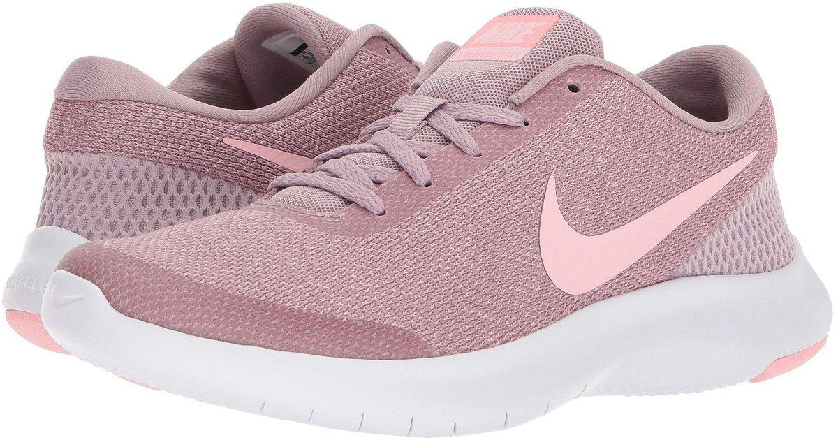39edaa9db22 Lyst - Nike Flex Experience Rn 7 (dark Obsidian purple Rise blue Recall) Women s  Running Shoes in Pink