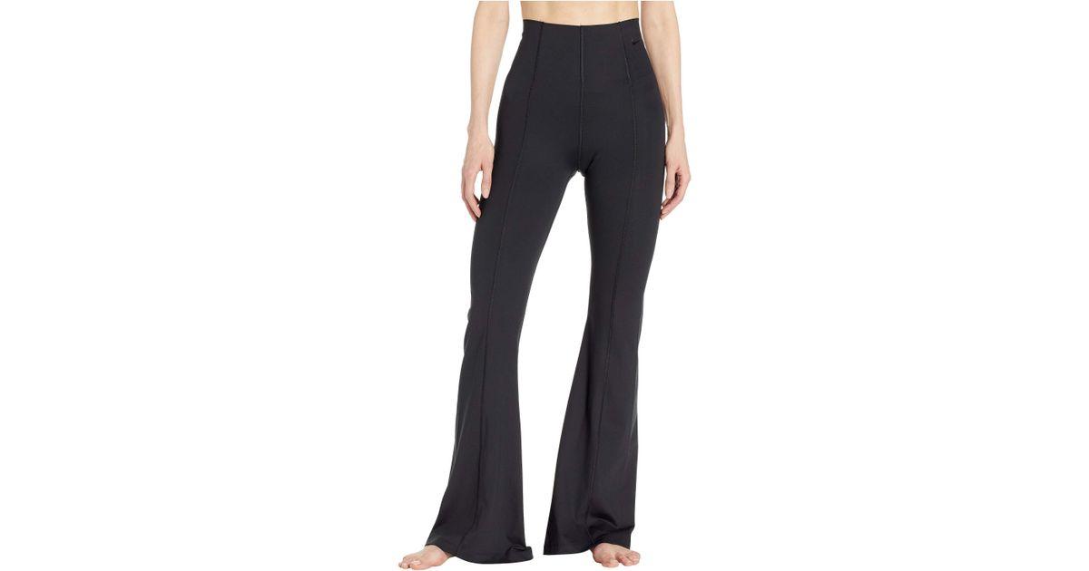e51e179af5 Nike Power Studio Lux Flare Tights (black/black) Women's Casual Pants
