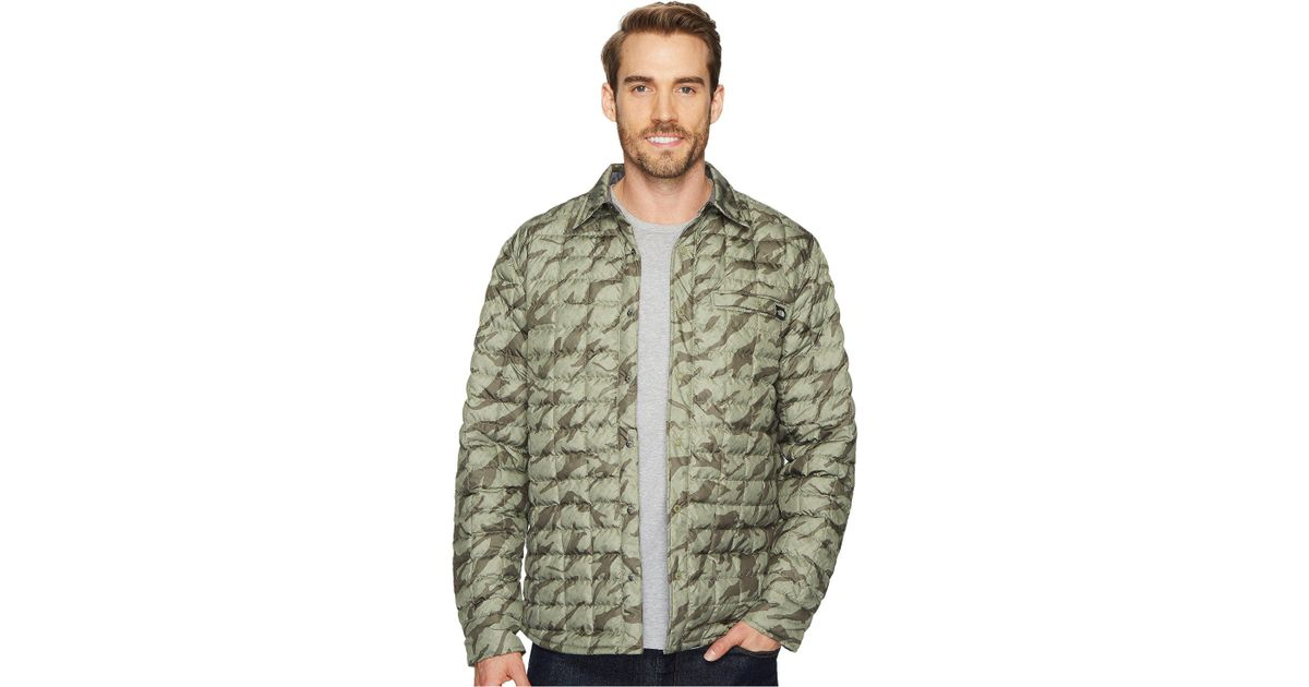 7a0068cd1 The North Face Green Reyes Thermoball Shirt Jacket for men