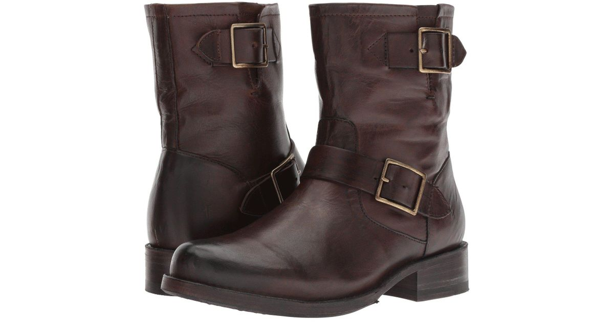 fb3fecbed50 Frye Brown Vicky Engineer Leather Boot