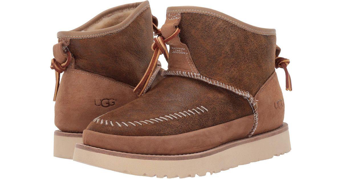 e63da456521 Ugg Brown Cali Moc Campfire (chestnut) Women's Boots
