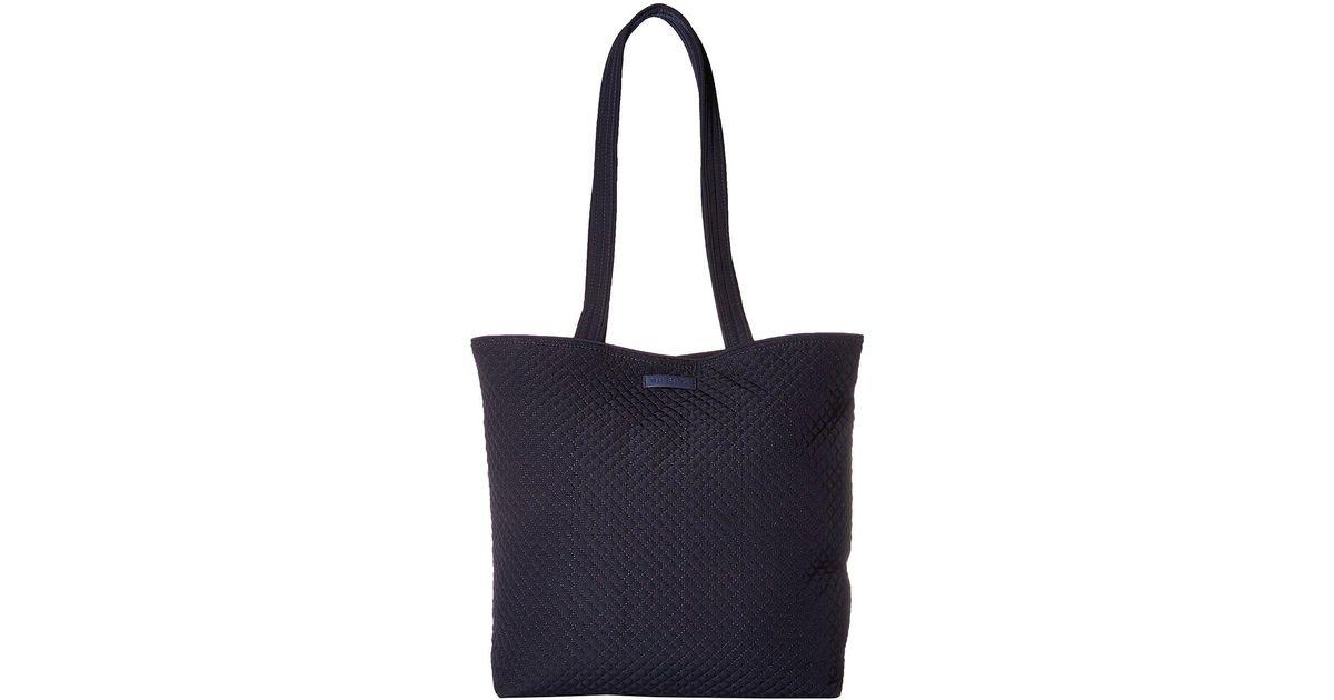 62d827bc4ffa Lyst - Vera Bradley Iconic Tote Bag (classic Navy) Tote Handbags in Blue
