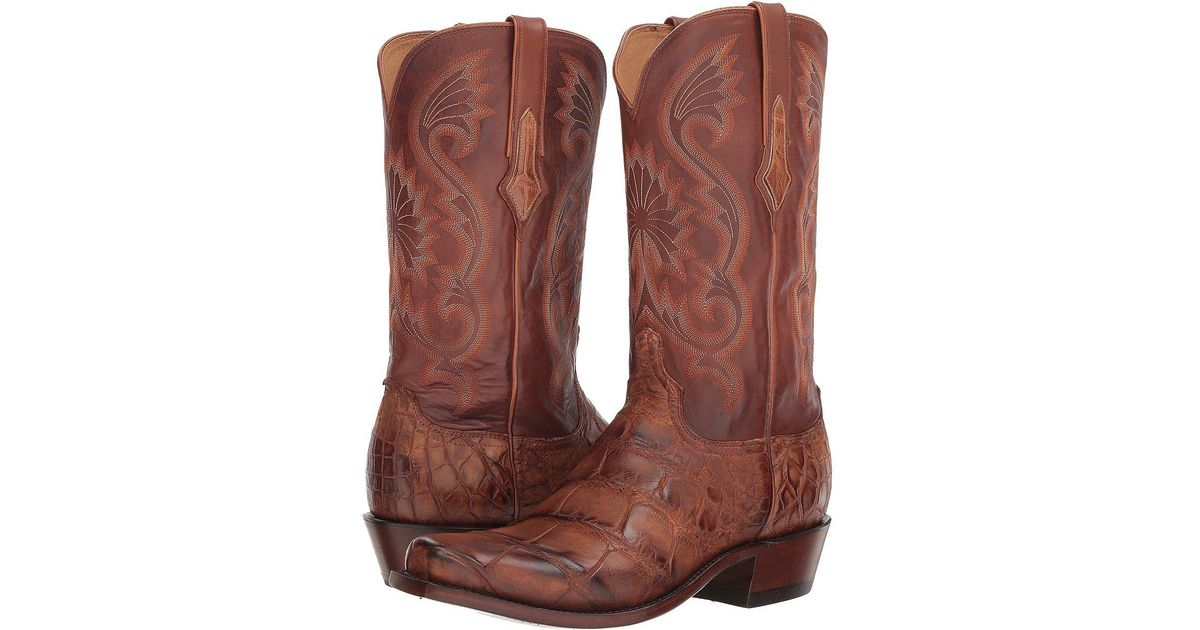 4277d46940d Lucchese Brown Rio for men