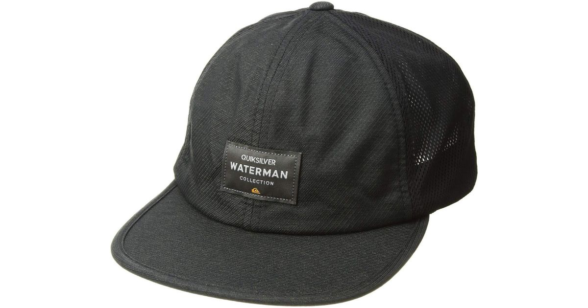 Lyst - Quiksilver Surf Runner Hat (vintage Black) Caps in Black for Men 0376c29bcbe