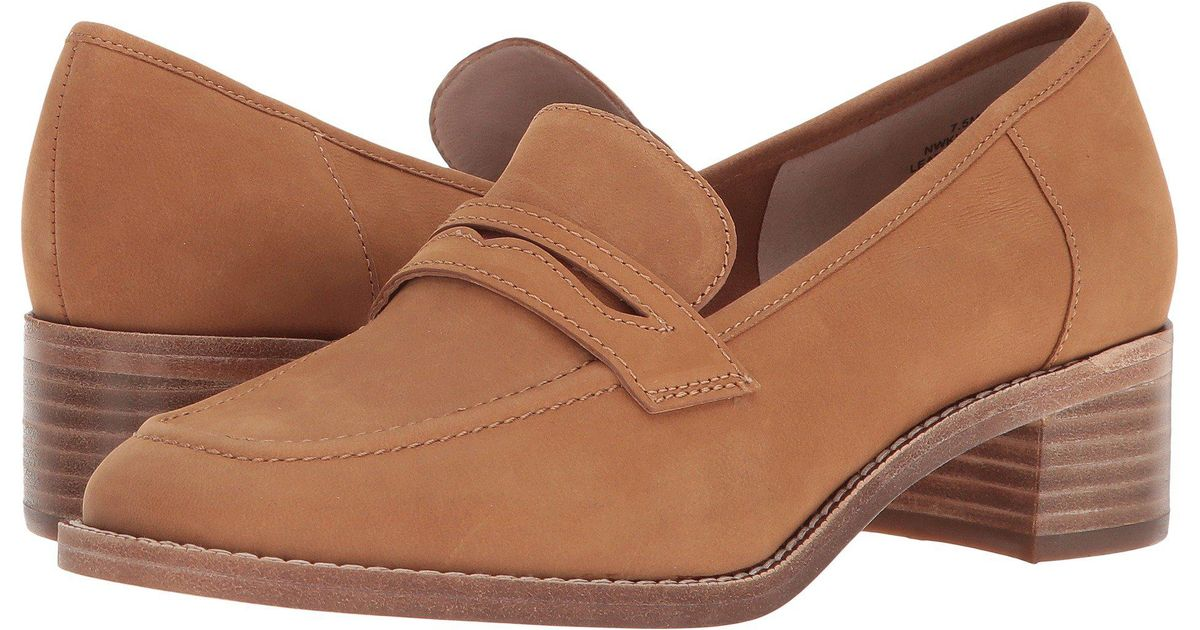 75d9b91d064 Lyst - Nine West Kimmy 40th Anniversary Heeled Loafer in Brown