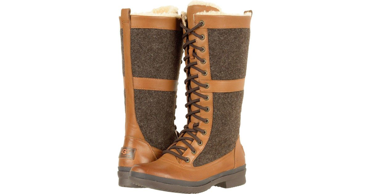 06afe1ada16 Ugg Brown Elvia (chestnut) Women's Boots