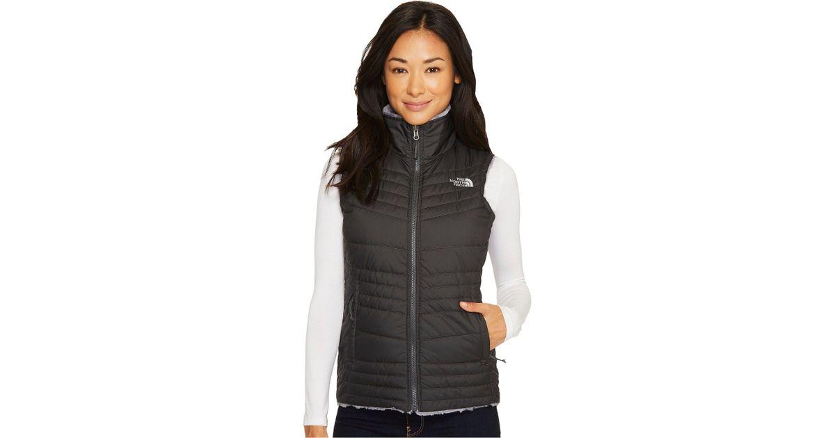 dacfeb127 The North Face Gray Mossbud Swirl Vest (asphalt Grey/mid Grey (prior  Season)) Women's Vest