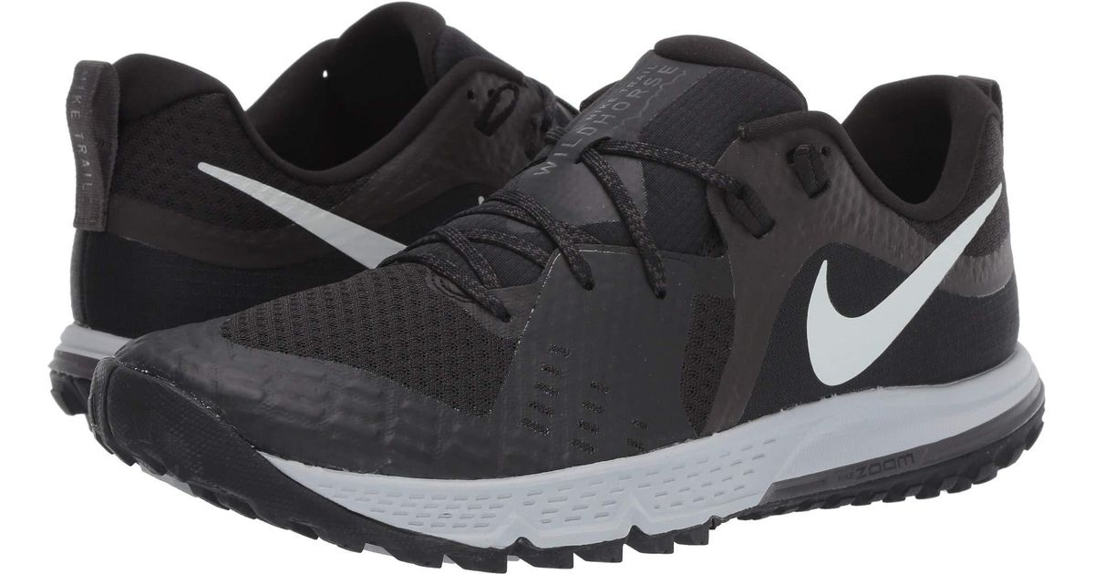 e8014499eefa9 Lyst - Nike Air Zoom Wildhorse 5 (black barely Grey thunder Grey wolf Grey) Men s  Running Shoes in Gray for Men