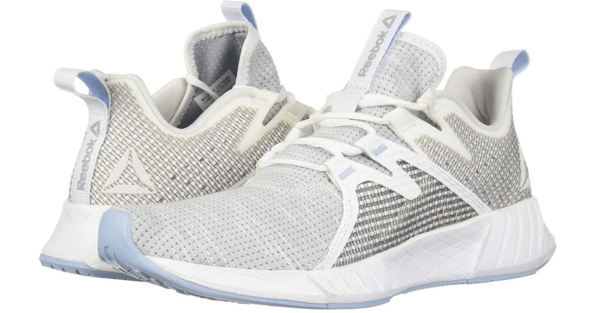 8fbbedbe8 Lyst - Reebok Fusium Run 2.0 (white black neon Red silver) Women s Running  Shoes