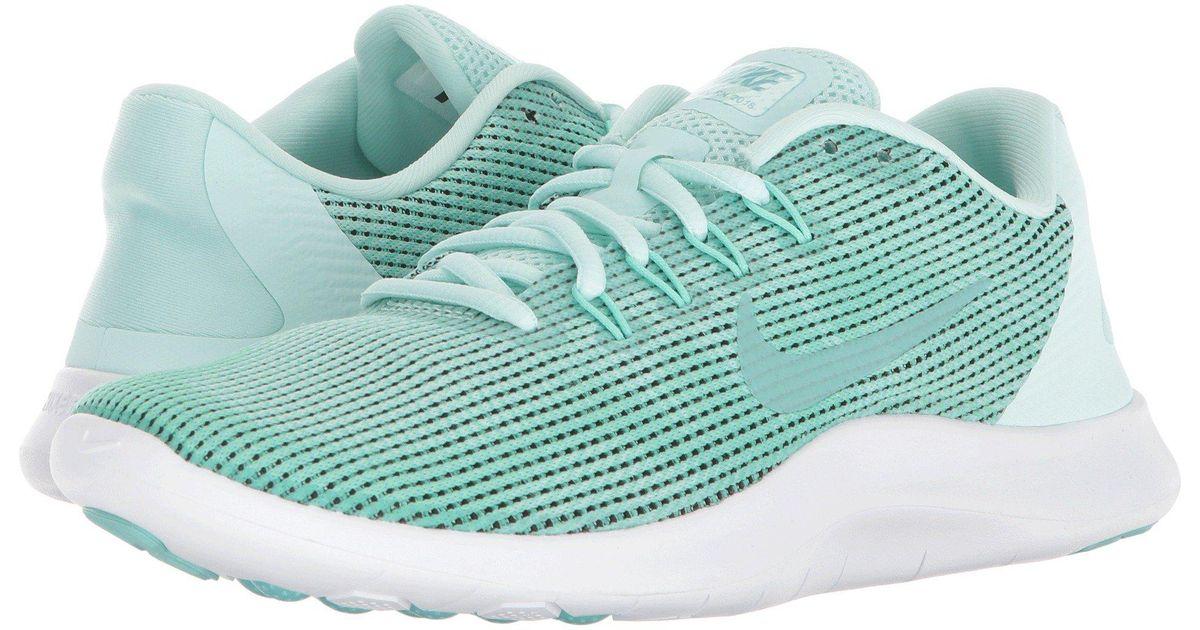 8721cc0c7192 Lyst - Nike Flex Rn 2018 Running Shoe in Green - Save 39%