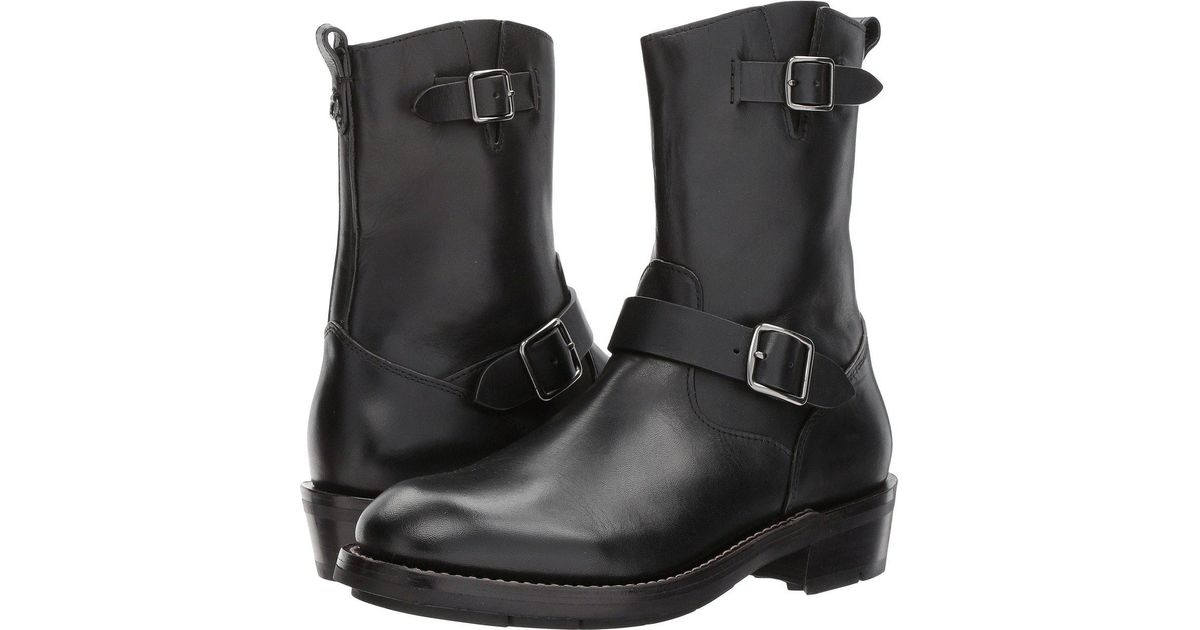 b54933c45c756 Lyst - COACH Moto Boot Leather in Black for Men