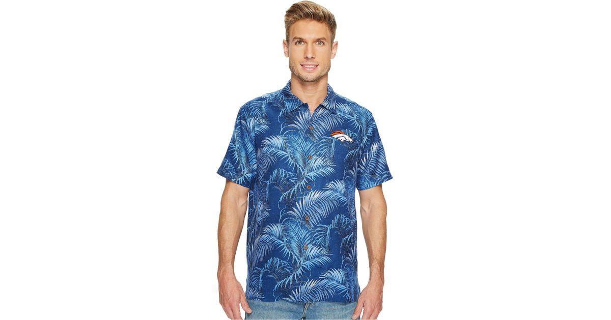 Lyst - Tommy Bahama Denver Broncos Nfl Fez Rounds Shirt in Blue for Men -  Save 50.0% 62d11a263