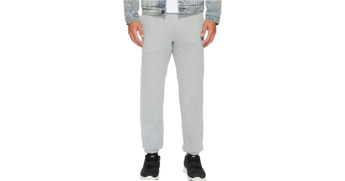00a33d606ee3 Lyst - Nike Sb Icon Fleece Pant (black black) Men s Casual Pants in Gray  for Men