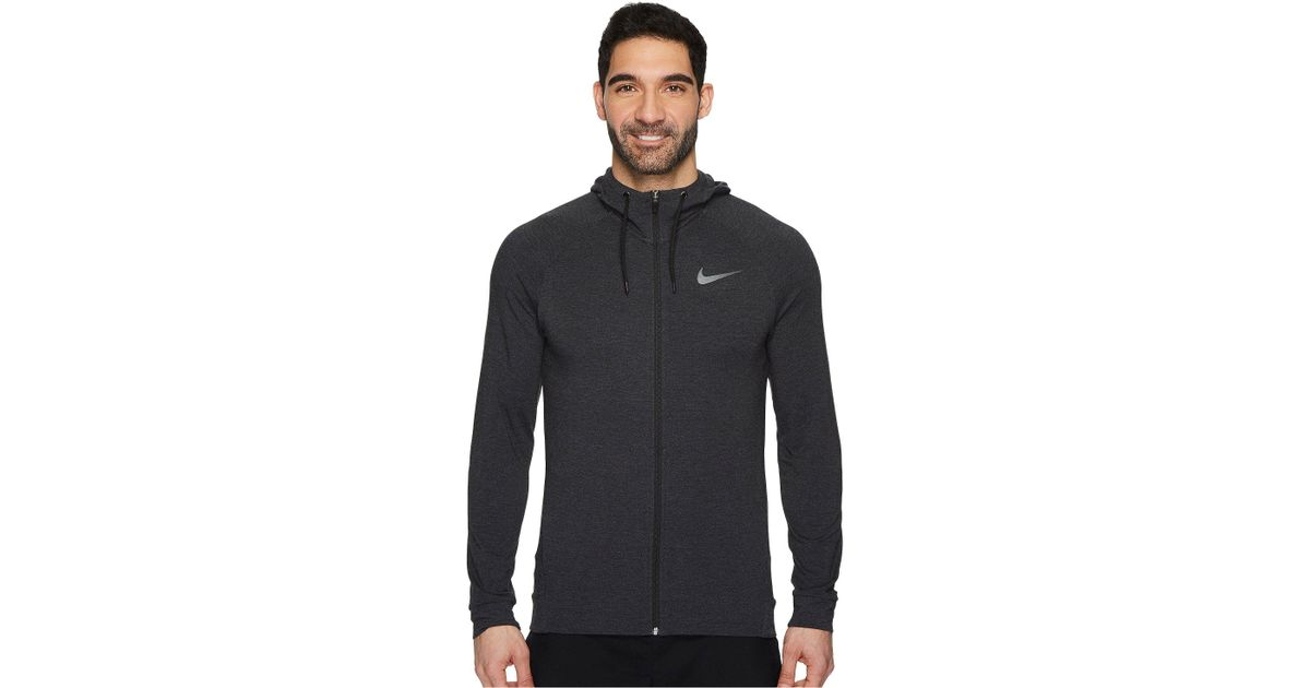 76c2dee1283e Lyst - Nike Dri-fit Full-zip Training Hoodie in Black for Men