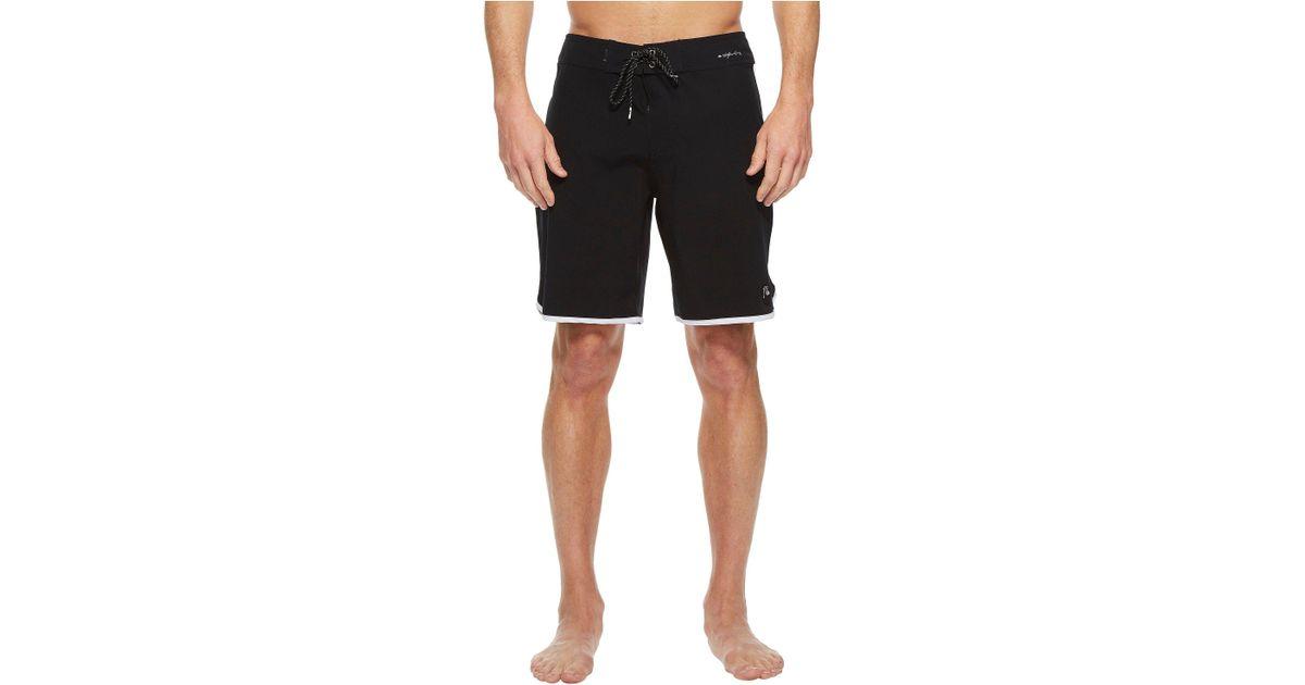 d9e3302504 Quiksilver Highline Scallop 19 Boardshorts (black) Swimwear in Black for Men  - Save 44% - Lyst