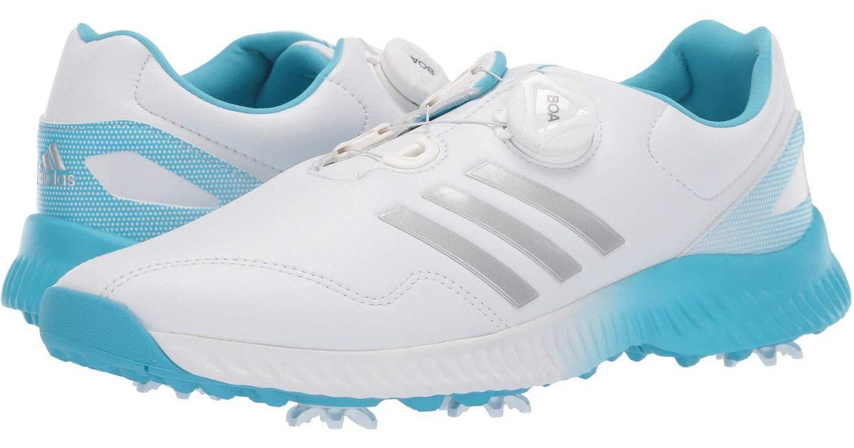 2b68c5f7c Lyst - adidas Originals Response Bounce Boa (clear Onix footwear White grey)  Women s Golf Shoes