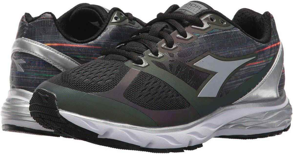 038d4729 Diadora Mythos Blushield Hip 2 (black/black/silver) Shoes