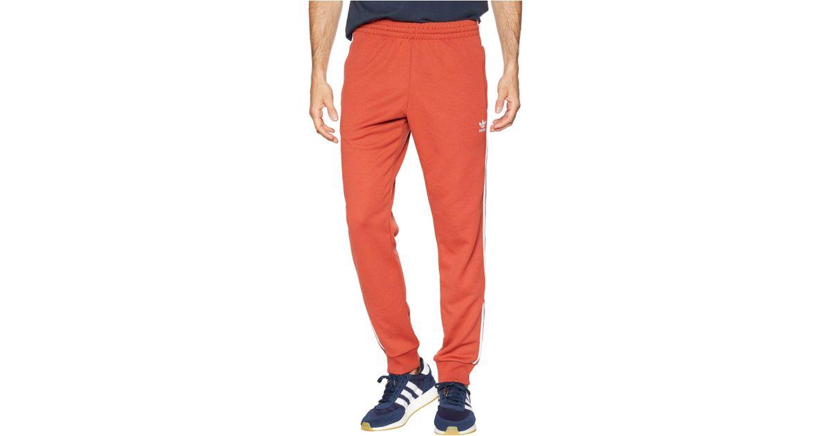 06540fdda adidas Originals Superstar Track Pants (shift Orange) Workout in Orange for  Men - Save 19% - Lyst