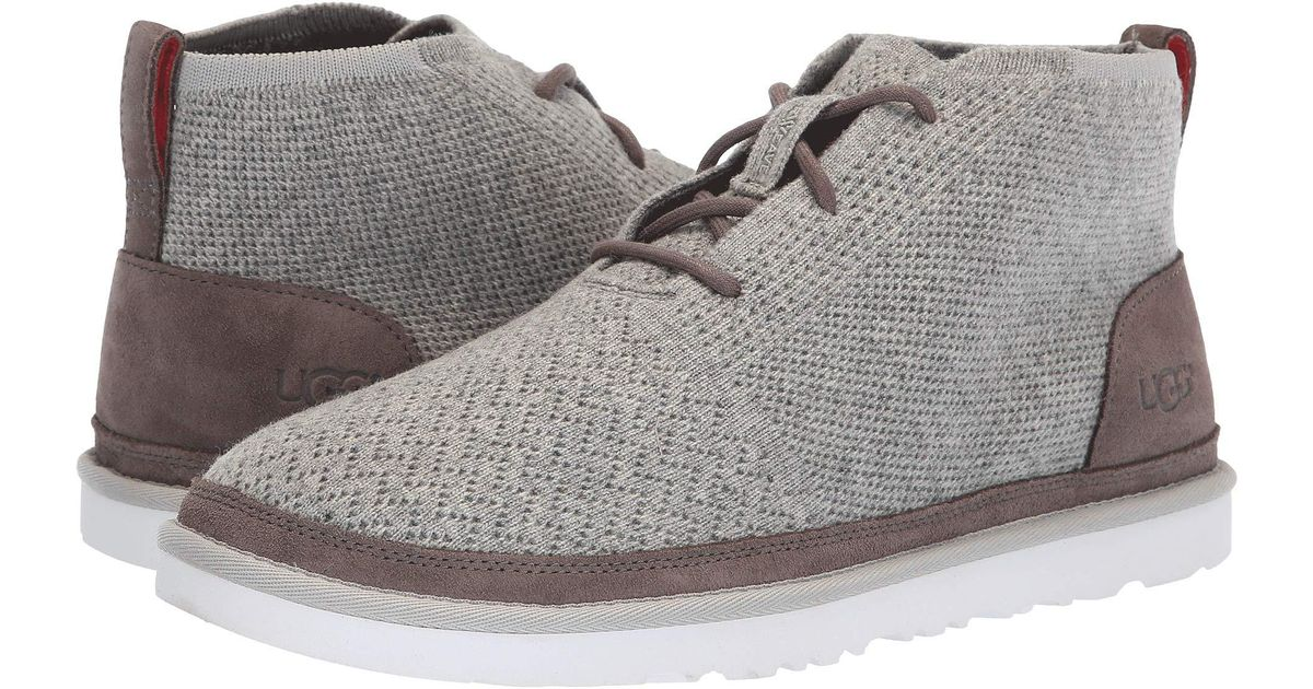 17e7936f55a Ugg Gray Neumel Hyperweave Tl (charcoal) Men's Lace-up Boots for men
