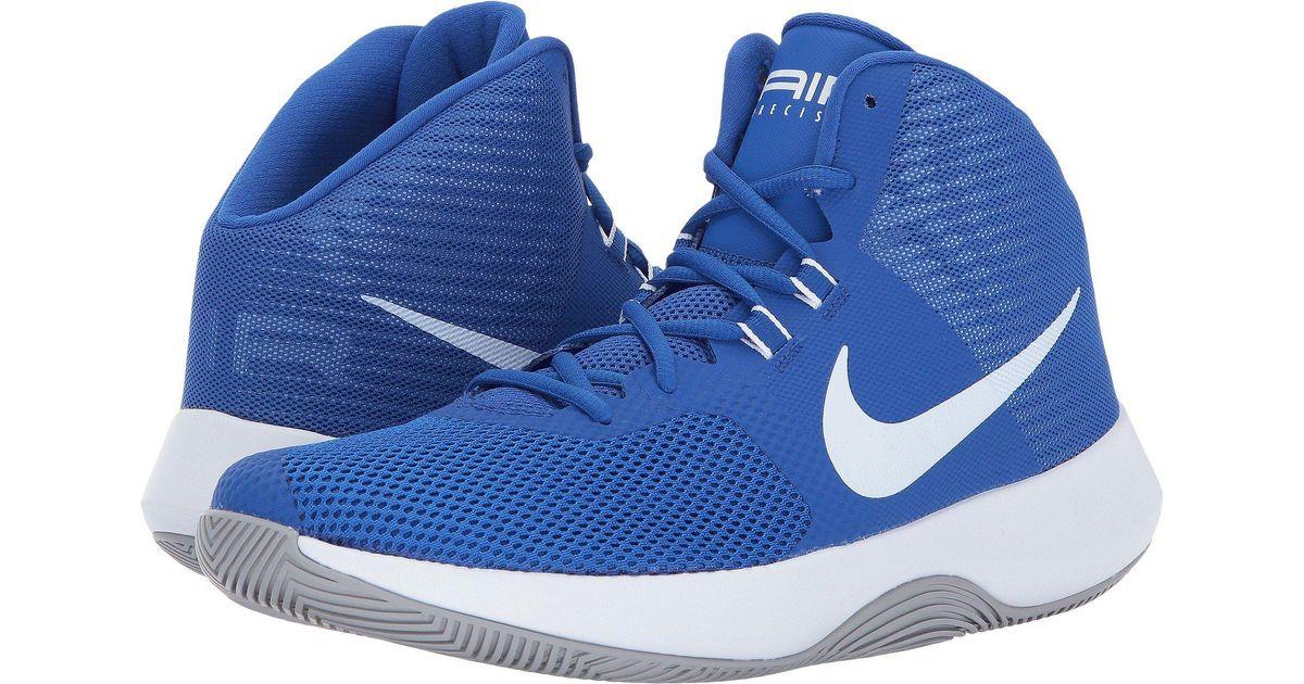 9c0752e02a368 Lyst - Nike Air Precision in Blue for Men