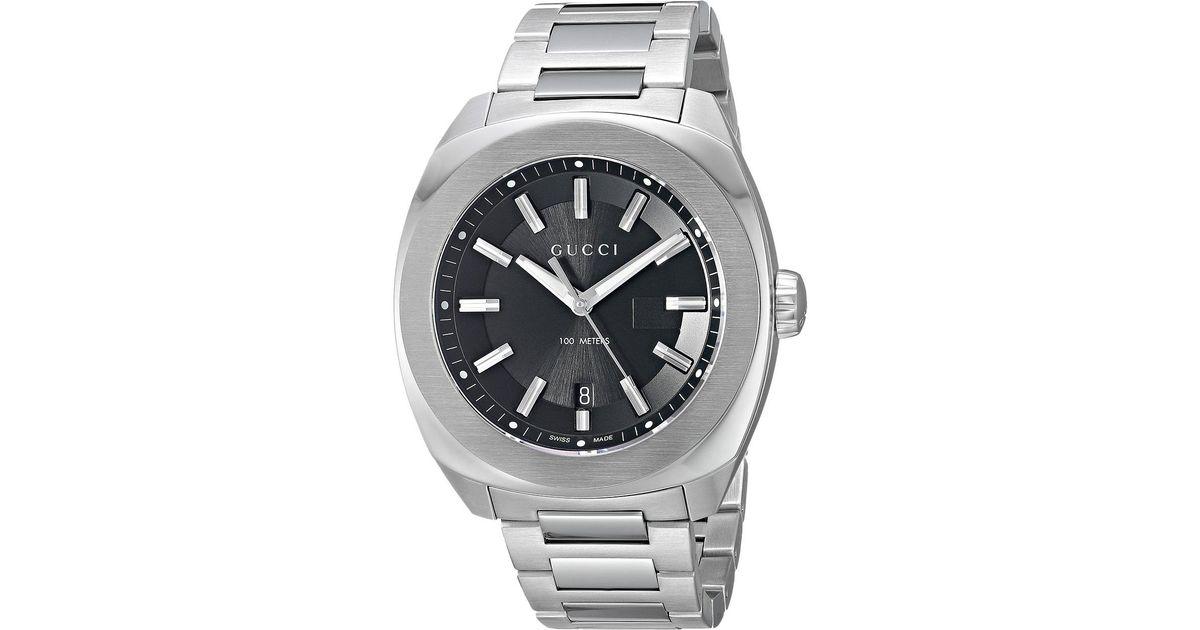 64505ced40a Lyst - Gucci Men s GG2570 Bracelet Watch