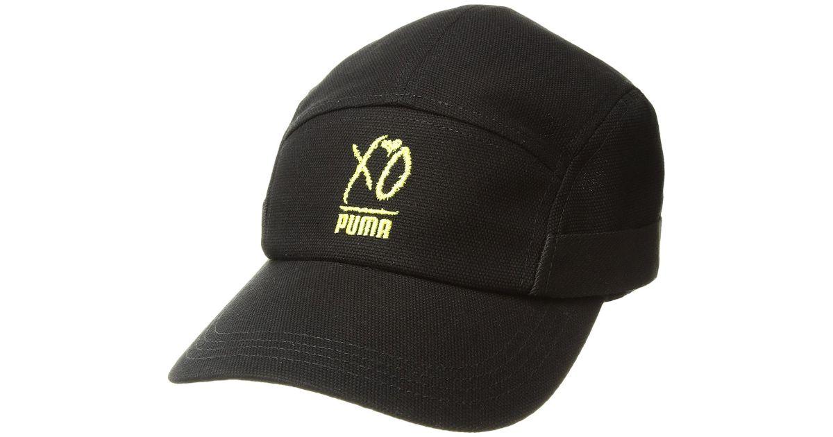 c8f8e5b1b424c PUMA X Xo Weeknd Canvas Cap in Black for Men - Lyst