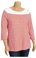 Old Navy Plus Striped Boatneck Tops - Lyst