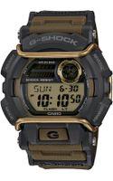 G-shock Mens Digital Olive Green Resin Strap Watch 55x50mm Gd400-9 - Lyst