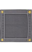 Givenchy Black Printed Start Modal-blend Scarf - Lyst