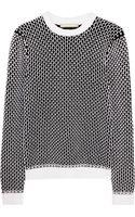 Richard Nicoll Chunky-knit Cotton-blend Sweater - Lyst