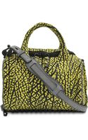 Alexander Wang Rockie Textured Contrast Leather Bag - Lyst