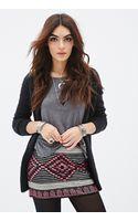 Forever 21 Sequined Geo Pattern Skirt - Lyst